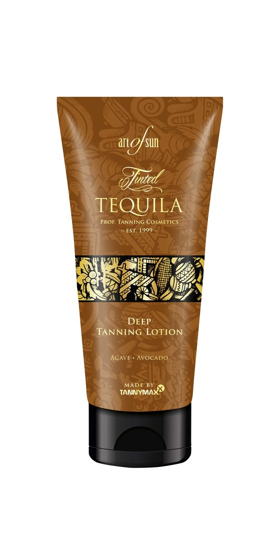 Art of Sun - Tinted TEQUILA Deep Tanning Lotion made by tannymaxx 200ml