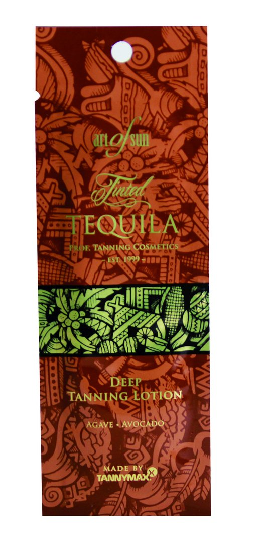 Art of Sun - Tinted TEQUILA Deep Tanning Lotion made by tannymaxx 15ml Sachet