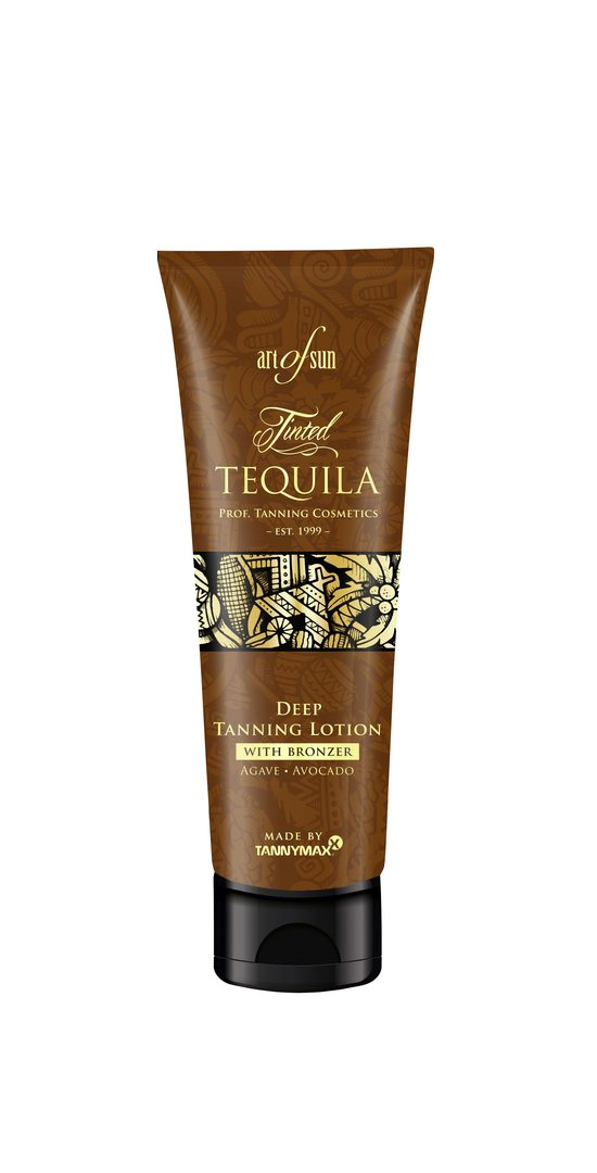Art of Sun - Tinted TEQUILA Deep Tanning Lotion + Bronzer - made by tannymaxx 125ml