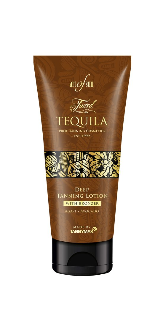 Art of Sun - Tinted TEQUILA Deep Tanning Lotion + Bronzer - made by tannymaxx 200ml Tube