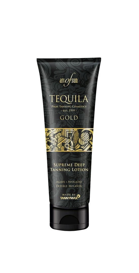 Art of Sun - TEQUILA GOLD Supreme Deep Tanning Lotion - made by tannymaxx 125ml