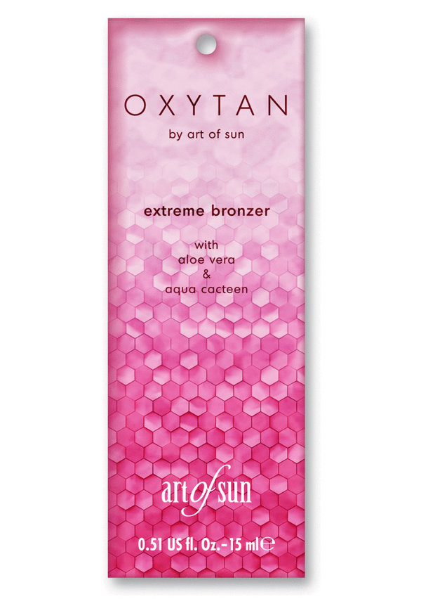 OxyTan X-Tansive extreme bronzer - by art of sun 15ml Sachet